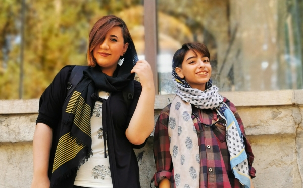 teenagers in Isfahan