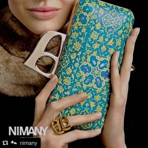 Modern accessories inspired by elements of Persian art