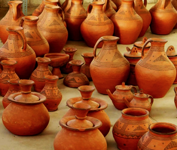 Kalpuregan ceramics is one of the oldest ceramics in the world which is still produced with the same method