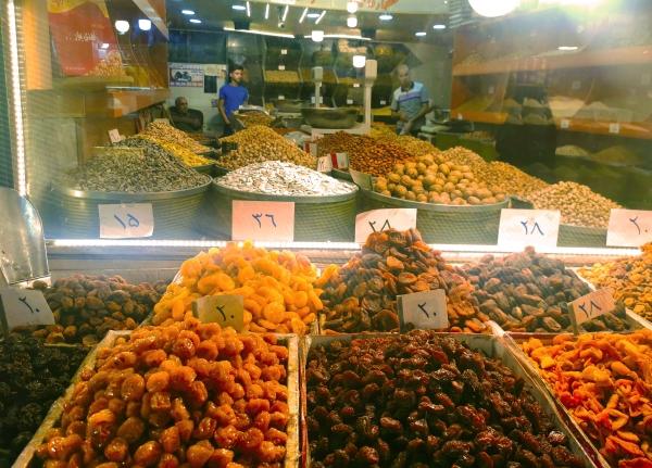 Les étiquettes de prix compliquées en Iran
